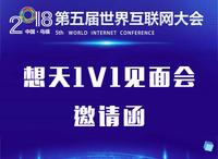 2018世界互联网大会,打卡想天,线下面基
